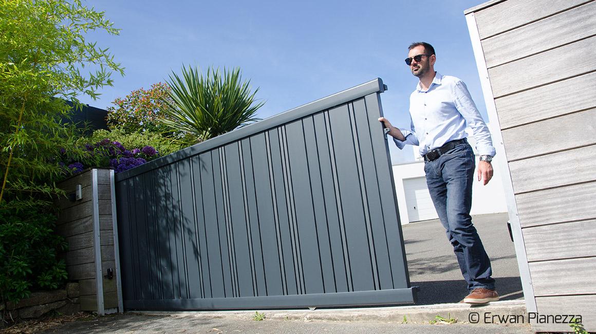 Ecoenergie Habitat, professionnels de l'économie d'énergie, spécialiste des portails et portillons.