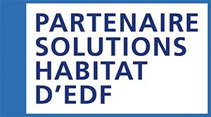Bleu Ciel EDF, partenaire d'Ecoenergie Habitat.