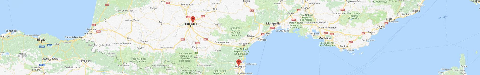 Demande de projet d'isolation et de menuiseries à Toulouse et Perpignan